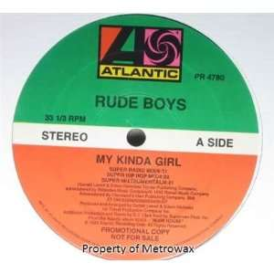 My Kinda Girl [Vinyl] Rude Boys Music