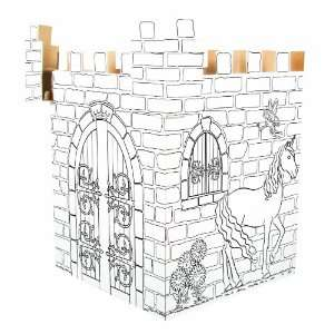 Rose Art 3D Create and Color Enchanted Castle: Toys & Games