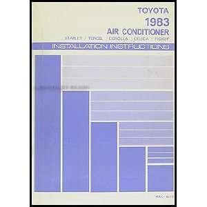 Manual Original Starlet Tercel Corolla Celica Pickup Toyota Books