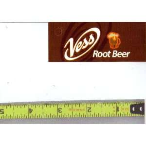 Magnum, Small Rectangle Size Vess Root Beer LOGO Soda Vending Machine