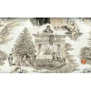 RJR Jinny Beyer Holiday Treasures Christmas Toile Cotton