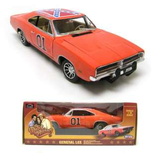 18 LARGE SCALE *The Dukes of Hazzard* #01 GENERAL LEE Diecast Car
