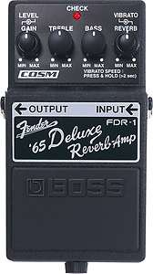 Boss FDR 1 Fender 65 Deluxe Reverb