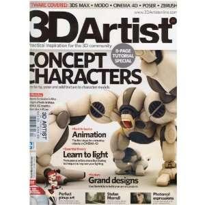 3D Artist Magazine (Concept Characters, no. 20, 2010