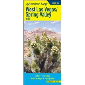 West Las Vegas And Spring Valley Nevada Street Map: Office Products
