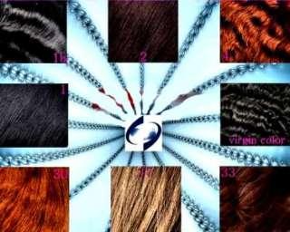 Full Lace Human Hair Indian Remu RemyLoose Wave 22#1B (#380353500798