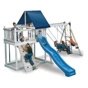 Kidwise Monkey Play Set I Wood Swing Set: Toys & Games