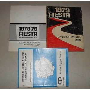 1979 Ford Fiesta Service Shop Repair Manual Set Oem 79 (Service manual