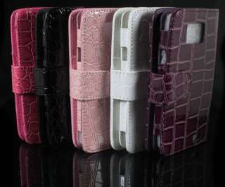 1PCS Bright Snake Leather Case Cover For Samsung Galaxy S 2 i9100