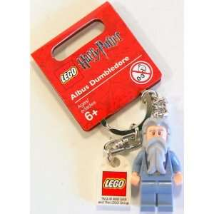Lego Harry Potter Albus Dumbledore Keychain: Toys & Games