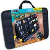 Dual Sided Portable Caddy Organizer Holds Tools & More 017874005772