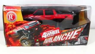 Radio Shack Petersens CHEVY AVALANCHE 4WD RC Truck w/Box 113 Scale