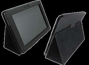 Leather Case Stand for Asus Eee Pad Transformer TF101