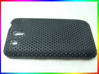 Black Hard case cover protect For HTC Legend G6 #5