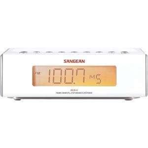 Fm High Quality Dual Sangean Digital Clock Radio Modern Design