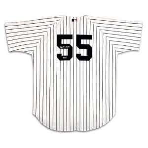 Hideki Matsui Signed New York Yankees Home/White Jersey