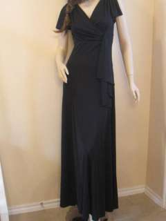 THE LIMITED Womens Long Maxi Event Dress Black XS