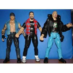 in the Ring Undertaker Steve Austin and Mick Foley Toys & Games