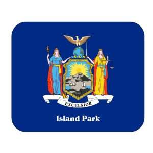 US State Flag   Island Park, New York (NY) Mouse Pad