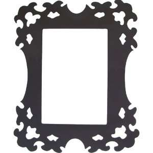 Black Nora Silhouette Wall Sticker Picture Frame