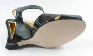 99 ENZO ANGIOLINI ELISSA Black Womens Shoes Wedge 6.5