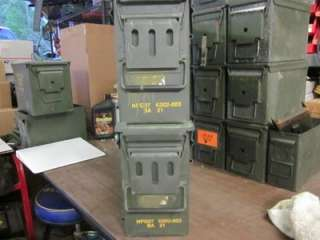40mm AMMO CANS WATER TIGHT SEAL USGI VERY GOOD CONDITION EXTRA LARGE