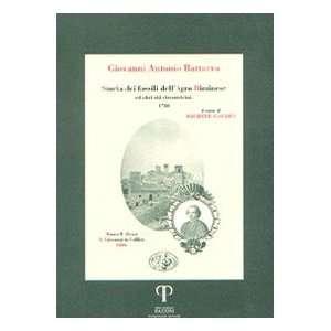 altri siti circonvicini (9788889198568): Giovanni A. Battarra: Books