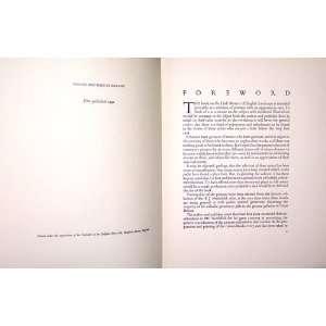 little masters of English landscape Cyril George Edward Bunt Books