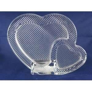 MIKASA Double Hearts Glass Frame