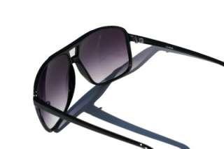 LIMITED Aviator Sunglasses Black Fashion Gradient Lens
