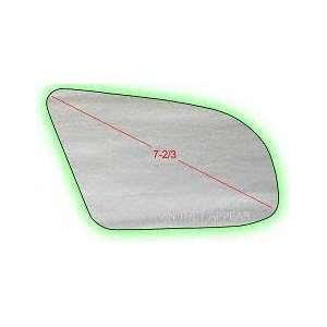 90 92 FORD PROBE MIRROR GLASS RH (PASSENGER SIDE), (7 3/8 Dg), Convex