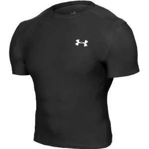 Under Armour Mens HeatGear Compression T Shirt Sports