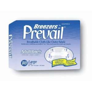 Breezers by Prevail Adult Diapers (Size Large (Bag of 18