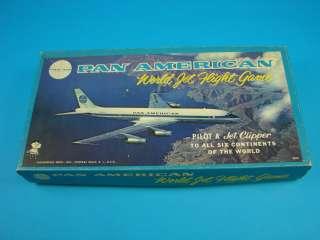 Plane Flight Board Game American Hassenfeld Bros. Airplane 1956