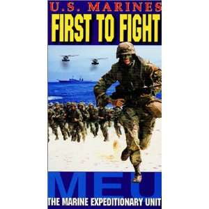 First to Fight The Marine Expeditionary Unit [VHS] Sean