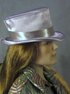 Fedora a Fashion Doll Hat on my Evangeline Ghastly & Matt ONeill