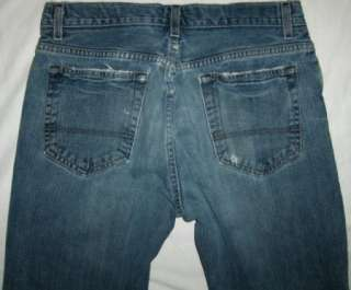 Old Navy 30x29 DESTROYED BOOT BUTTON FLY JEAN trashed