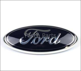 BRAND NEW OEM FORD OVAL FRONT GRILL EMBLEM FORD #4L3Z 1542528 AB