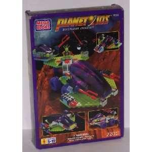 Mega Bloks Planetoids Repzyllian Trekker Toys & Games