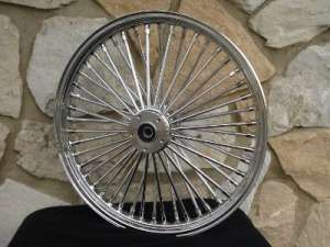 21X2.15 FAT 48 SPOKE FRONT WHEEL FOR HARLEY FXST & DYNA WG 84 99
