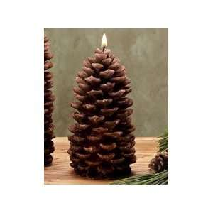 Pine Cone Rustic Candle, Medium (Set of 4)