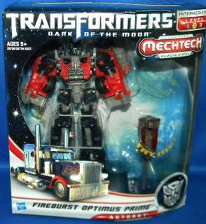 Dark Side Moon Voyager FIREBURST OPTIMUS PRIME Minor Packaging Ware