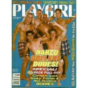 Playgirl Magazine: November 1995: Charmian Carl: Books