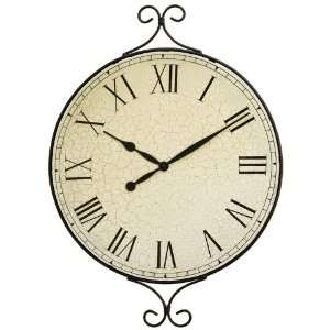 Kassel Decorative Metal Framed Wall Clock Home & Kitchen