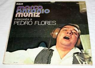 MARCO ANTONIO MUNIZ Pedro Flores LP, Mexico/Puerto Rico