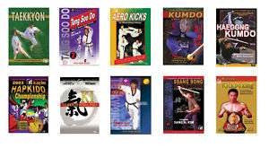 10 Korean Martial Arts DVDs   Great Deal on New DVDs