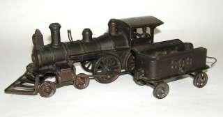 Iron Ideal Locomotive & 999 Tender Foor Train Engineer Window