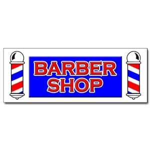 24 BARBER SHOP DECAL sticker hair salon parlor: Everything Else