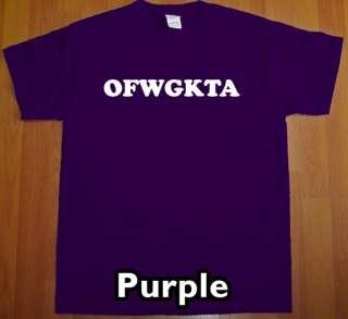 OFWGKTA odd future T Shirt free earl tee wolf gang