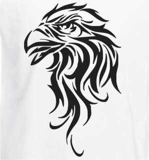 Eagles Head Tattoo Style Tribal Mens T Shirt   Many Options   Free P